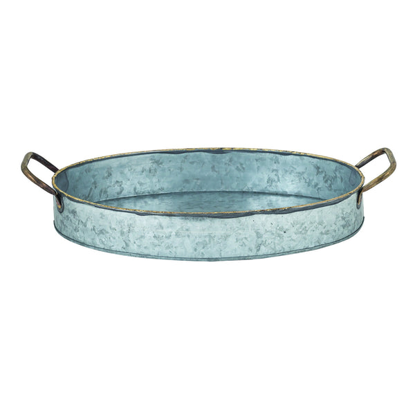 San Miguel Oval Handled Deep Tray