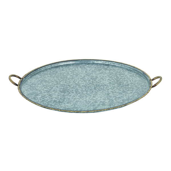 San Miguel Round Handled Tray