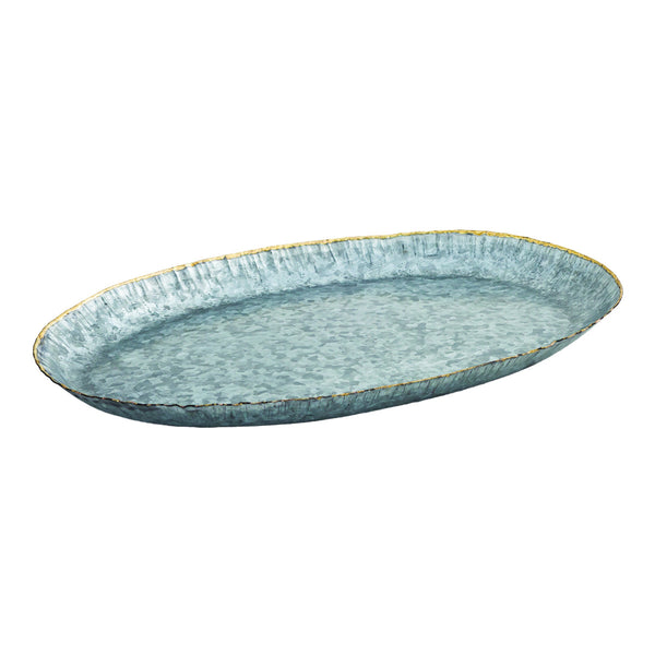 San Miguel Large Oval Starburst Tray