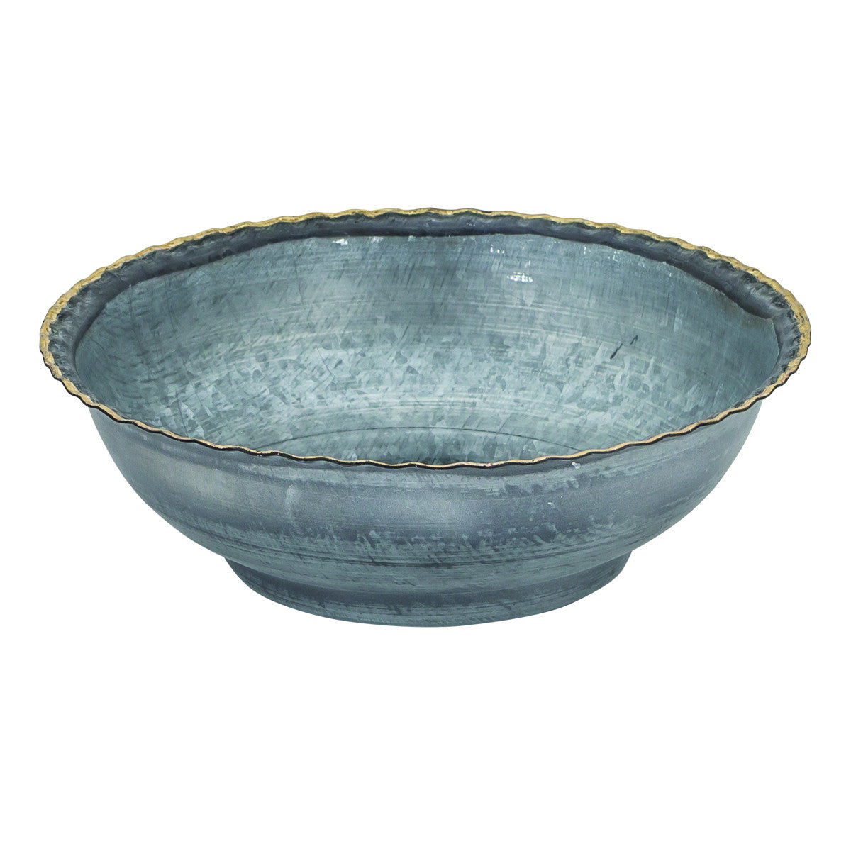 San Miguel Scalloped Bowl