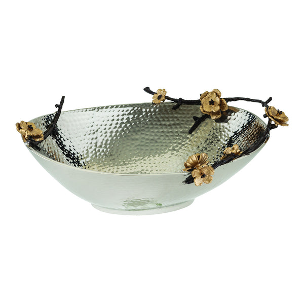 Wild Blossom Oval Centerpiece Bowl