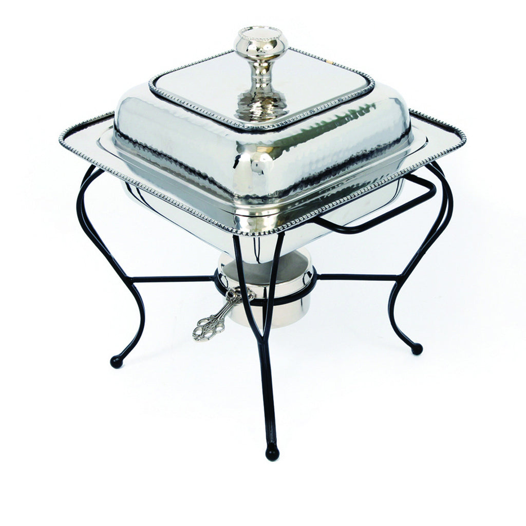 Oven To Table 2 QT Square Stainless Steel Chafing Dish