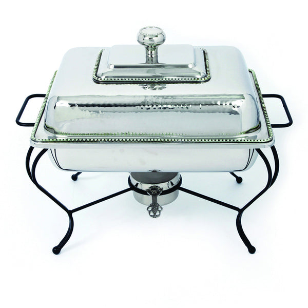 Oven To Table 4 QT Rectangle Stainless Steel Chafing Dish