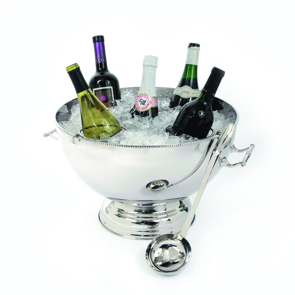 Arcadian Rope 5 Bottle Holder/ Punch Bowl w/ Ladle