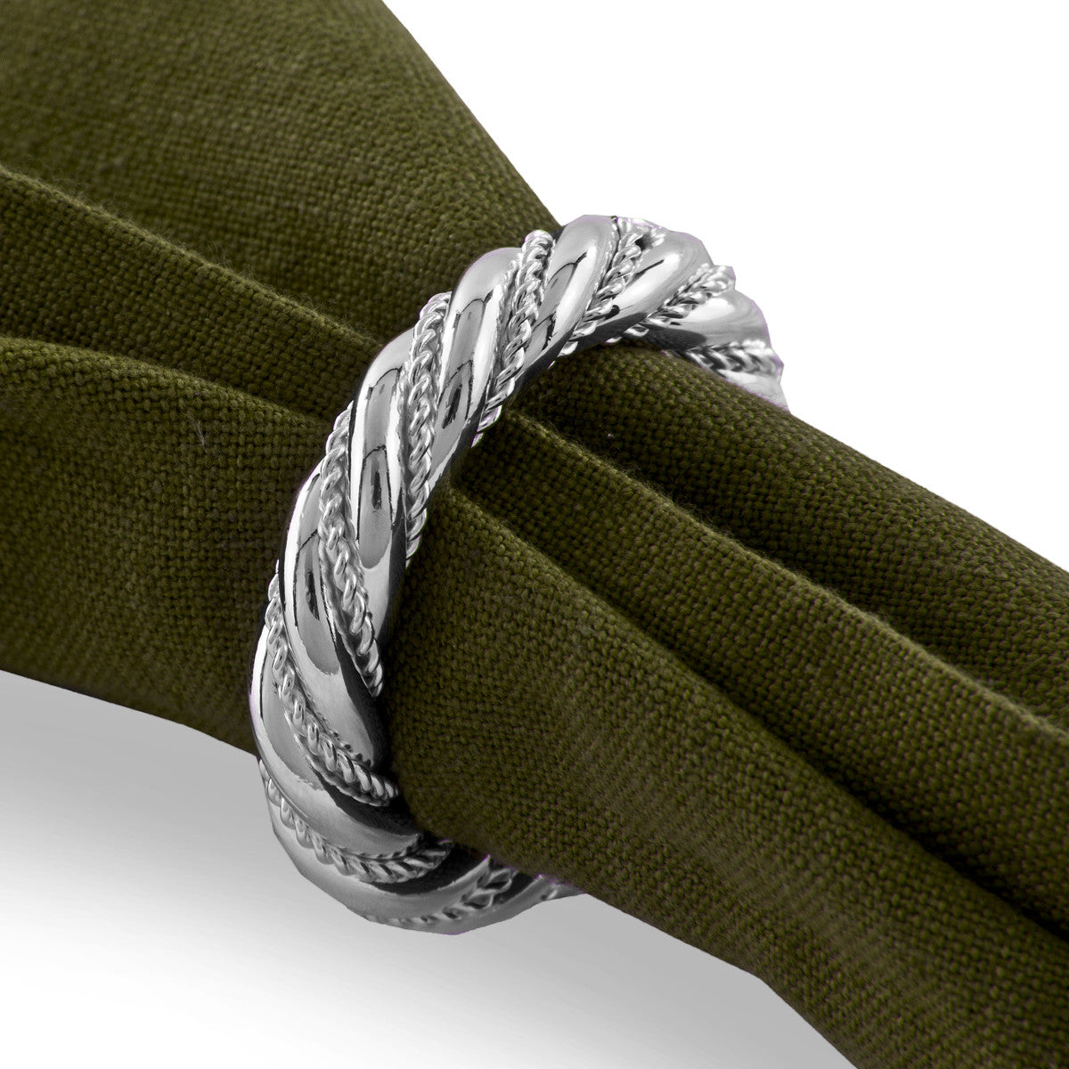 Arcadian Rope Napkin Ring