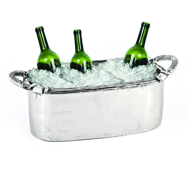 Arcadian Rope Oval Handled Beverage Tub