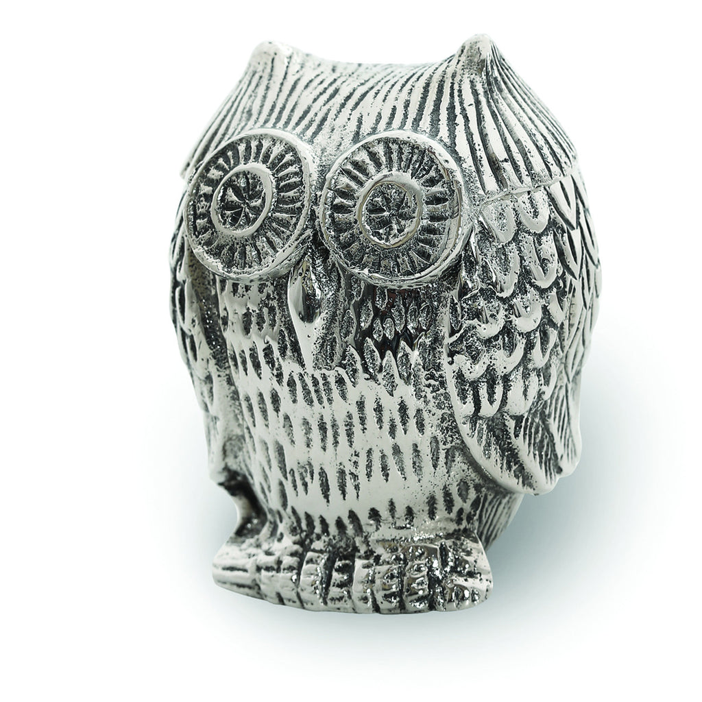 Lakeside Owl Covered Jar