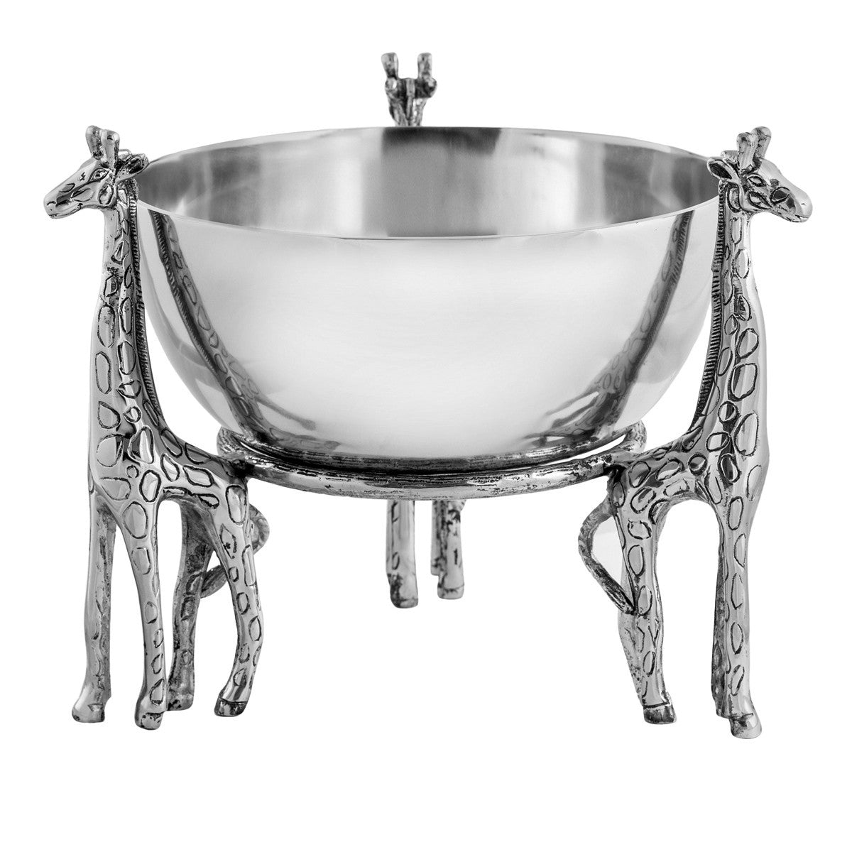 Safari 3-Giraffe Centerpiece Bowl