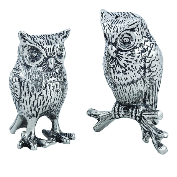 Lakeside Owl Salt & Pepper Shakers