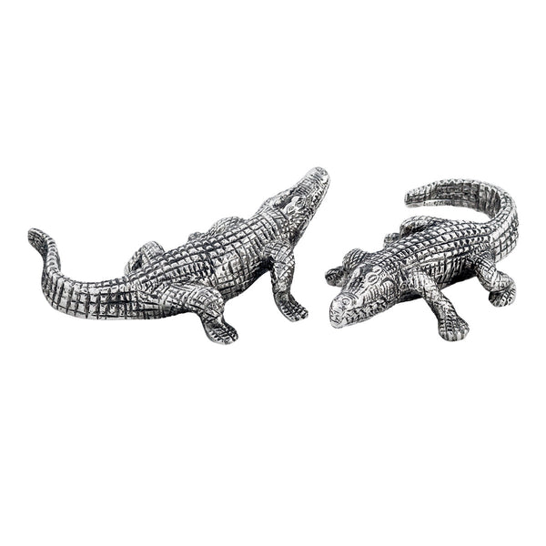 Safari Alligator Salt & Pepper Shakers