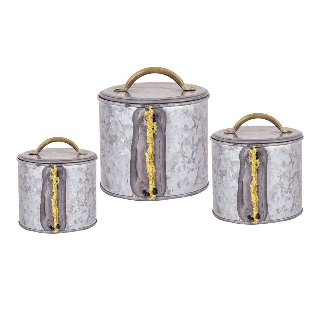 San Miguel Canister Set, Set of 3