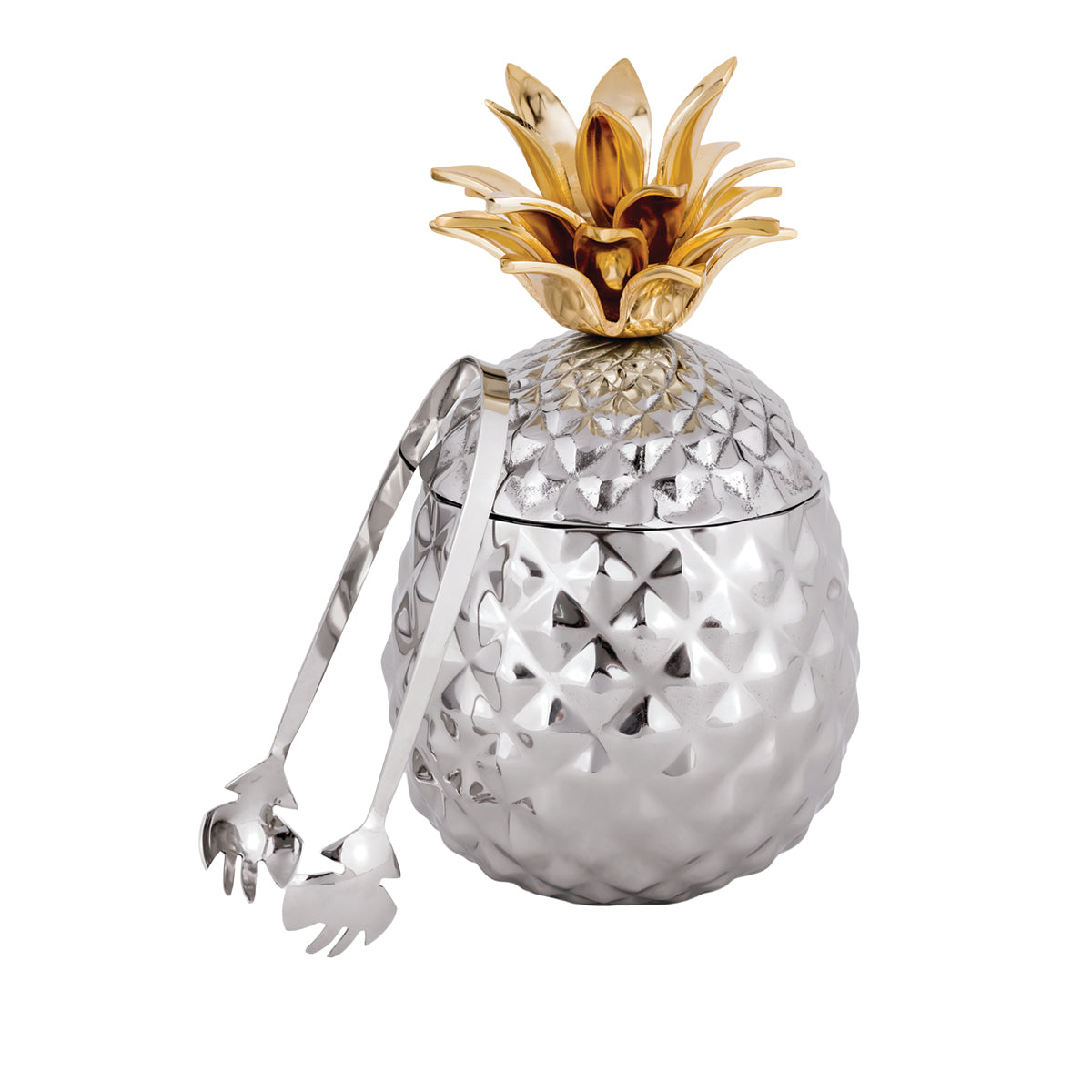 Pineapple Ice Bucket w/ Tong