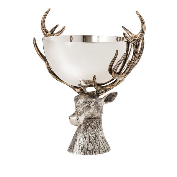 Elk Centerpiece Bowl