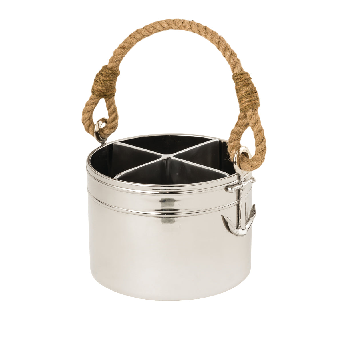 Lakeside Anchor Utensil Caddy / Bucket
