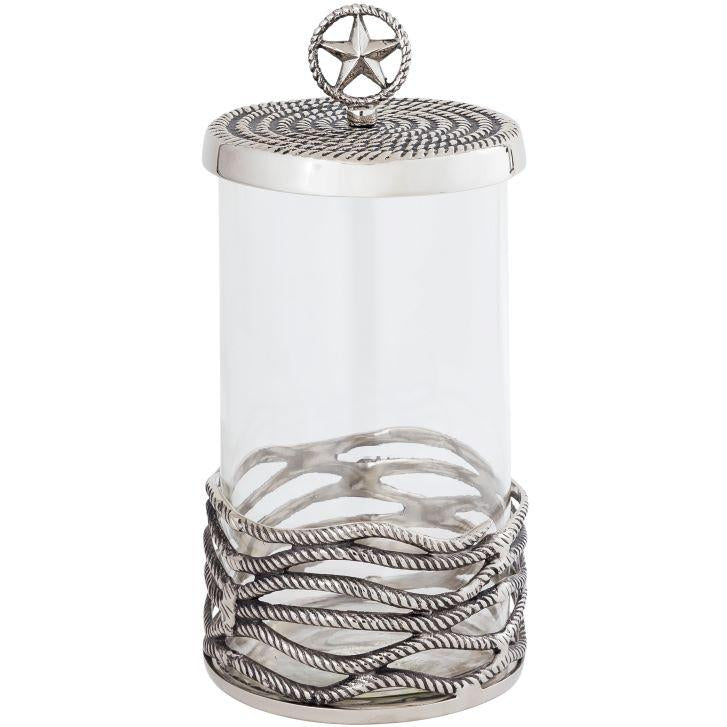 Ranch Tall Covered Glass Jar
