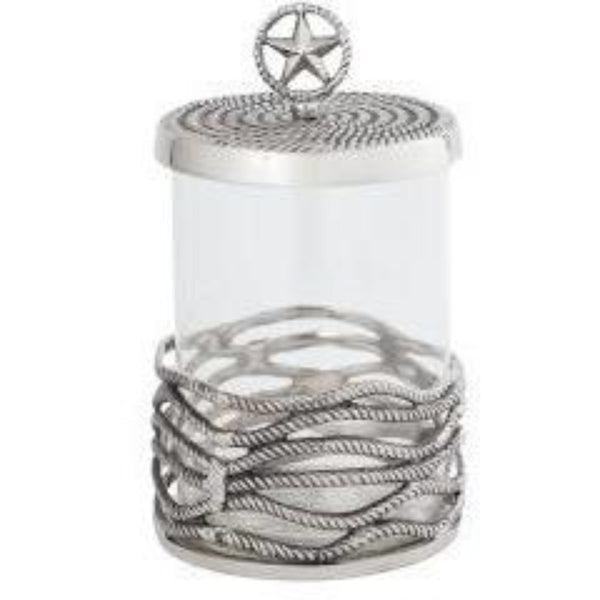 Ranch Covered Glass Jar