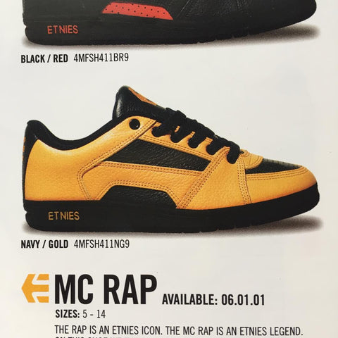 Etnies MC Rap ad