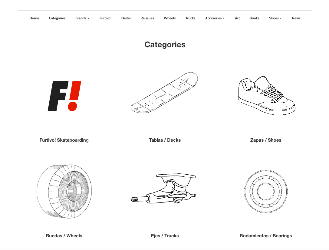 Categories Furtivo Skateboarding