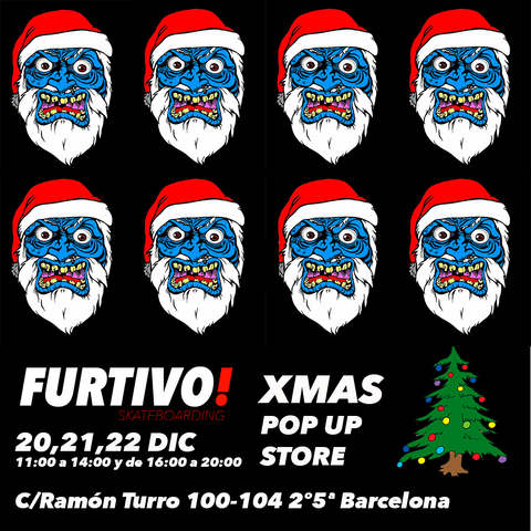 Furtivo! Xmas Pop Up Store