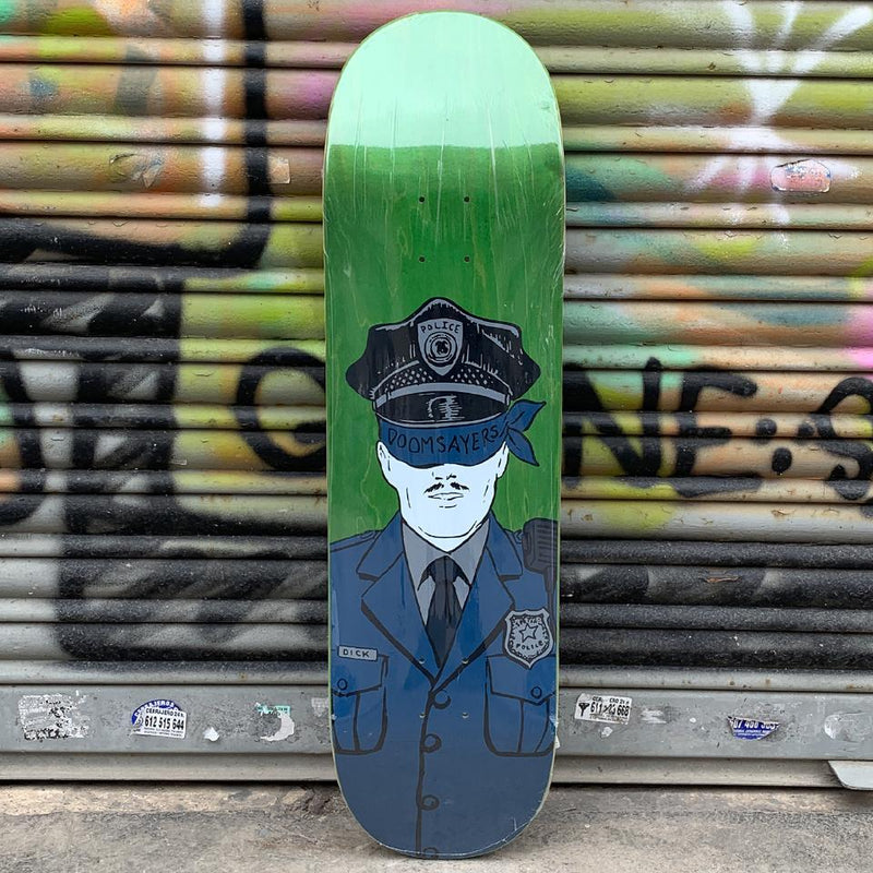 Doom Sayers Corp Cop 8.75 Skateboard Deck - Tabla Skate Tabla/Deck Doom Sayers