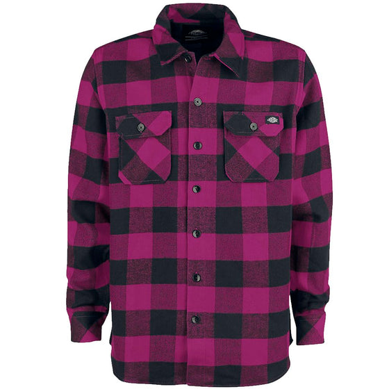 Dickies Sacramento Relaxed Long Sleeve purpura- Camisa - Furtivo! Skateboarding