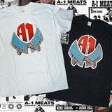 Dear A1 Meats Tshirt White- Camiseta - Furtivo! Skateboarding