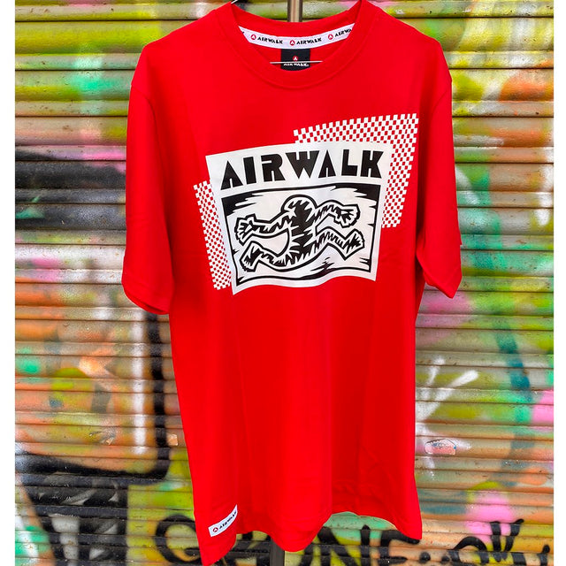 Airwalk Con Boxlogo Red Reissue Tshirt- Camiseta - Furtivo! Skateboarding