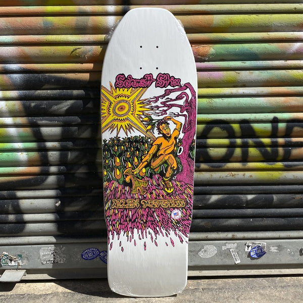 Schmitt Stix Allen Midgette Flower Picker 9.875 X 31 Reissue Skateboard Deck- Tabla Skate - Furtivo! Skateboarding