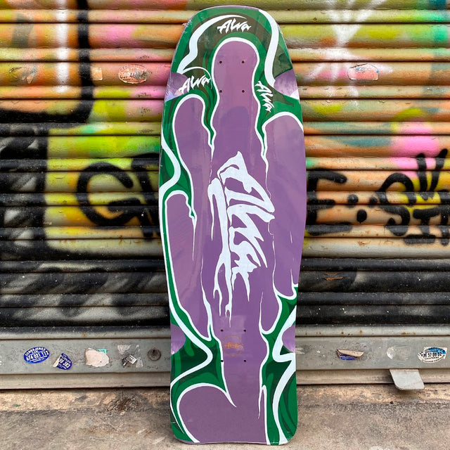 Alva Agression Fish Reissue Skateboard Deck-Tabla - Furtivo! Skateboarding