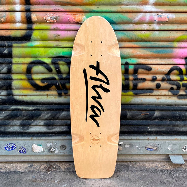Alva Skates Bela Reissue Black Skateboard Deck-Tabla - Furtivo! Skateboarding
