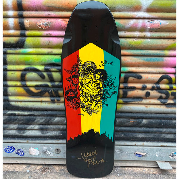 Alva Posse Street Limited Edition Signed Reissue Skateboard Deck Tablas Alva Skates