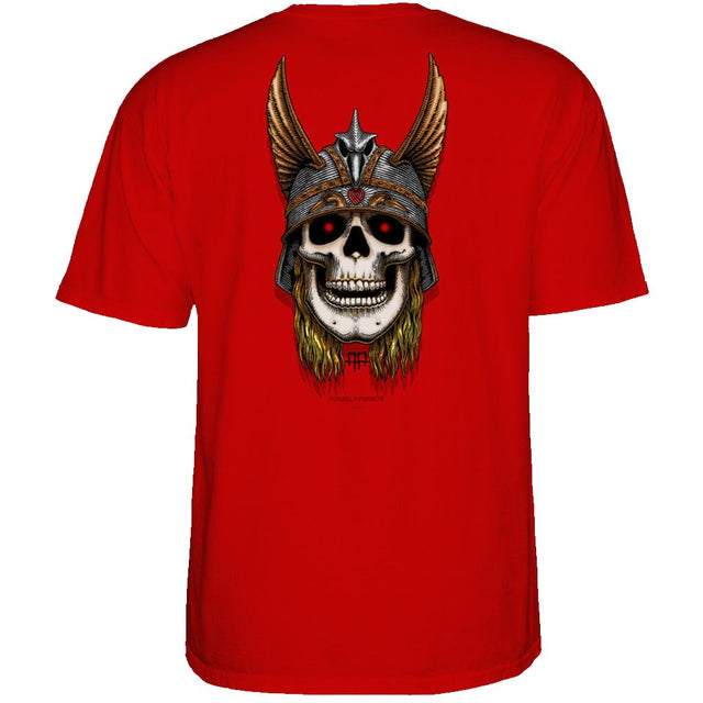 POWELL PERALTA Andy Anderson Skull Red T-Shirt- Camiseta - Furtivo! Skateboarding