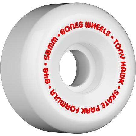 RUEDAS/WHEELS BONES WHEELS HAWK MINI CUBE WHITE 58MM - Furtivo Skateboarding