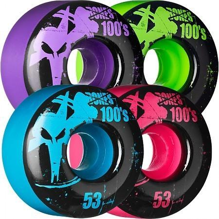 RUEDAS/WHEELS BONES WHEELS OG FORMULA 53MM MULTICOLOR - Furtivo Skateboarding