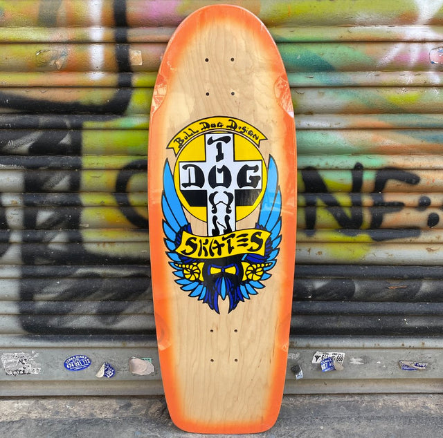 DOGTOWN Bulldog Og Classic 10,0 Reissue Skateboard Deck- Tabla Skate Tablas Dogtown Skateboards