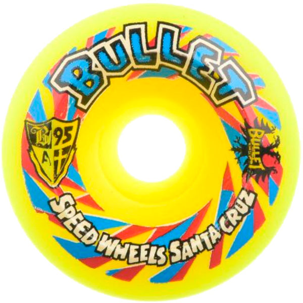 OJ WHEELS Bullet Church Glass Speedwheels 60MM Reissue Skate Wheels- Ruedas Ruedas OJ Wheels