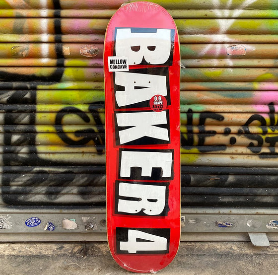 Baker 4 8.5 Skateboard Deck- Tabla - Furtivo! Skateboarding