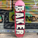 Baker Tyson Name Blush 8.475 Skateboard Deck- Tabla Tablas Baker