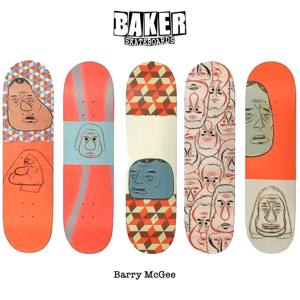 Baker x Barry McGee pack Tablas Baker