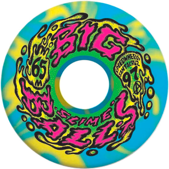 Santa Cruz SLIME BALLS BIG BALLS 65MM Reissue Wheels- Ruedas Ruedas Santa Cruz Skateboards