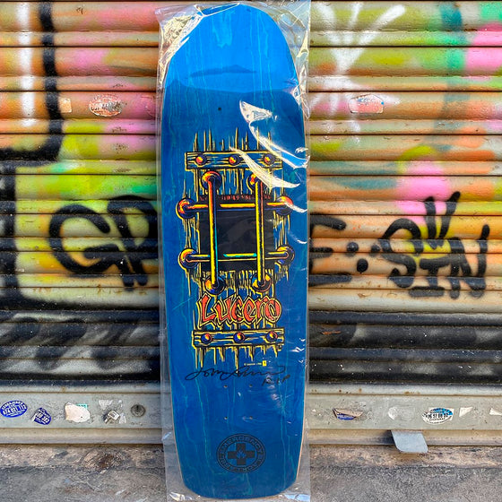 Black Label Lucero M.I.A Blue 9.25 Skateboard Deck- Tabla Skate - Furtivo! Skateboarding