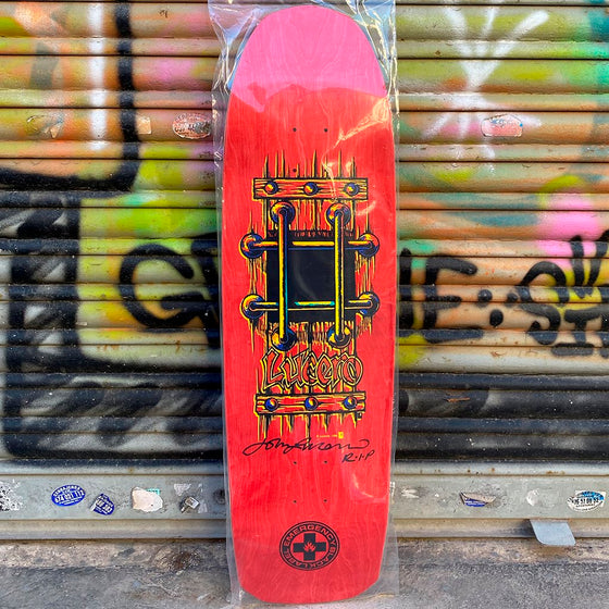 Black Label Lucero M.I.A Red 9.25 Skateboard Deck- Tabla Skate - Furtivo! Skateboarding
