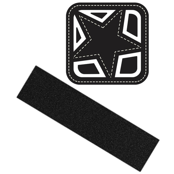 Shorty's Black Magic Griptape 9.0 Lija - Furtivo! Skateboarding