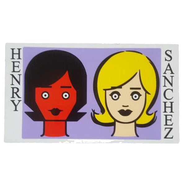 Blind Henry Sanchez Two Girls Sticker Accesorios -Pegatina - Furtivo! Skateboarding