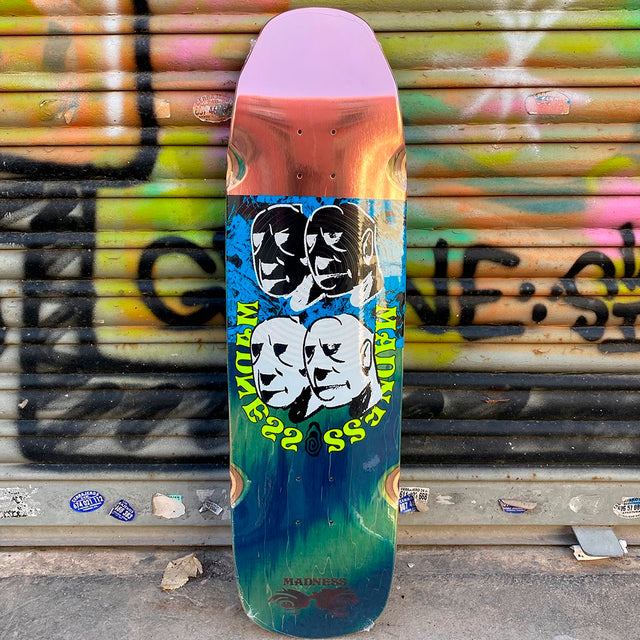 MADNESS Block Head R7 9.0 Skateboard Deck-Tabla Skate - Furtivo! Skateboarding