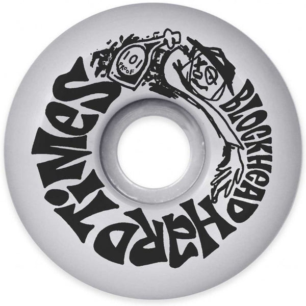 Blockhead Skateboards Hard Times Wheels 60mm Reissue- Ruedas - Furtivo! Skateboarding