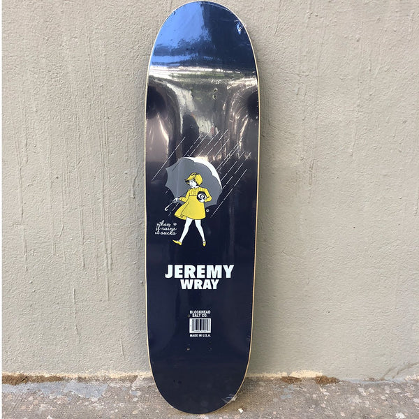 Blockhead Skateboards Jeremy Wray RIDER Grip it and Rip it Modern Skateboard Deck- Tabla Skate - Furtivo! Skateboarding