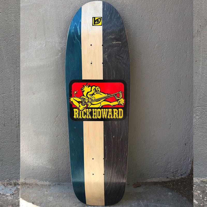 Blockhead Skateboards Rick Howard monkey (Never Been Issued) 1991 art, limited edition Skateboard Deck- Tabla Skate - Furtivo! Skateboarding