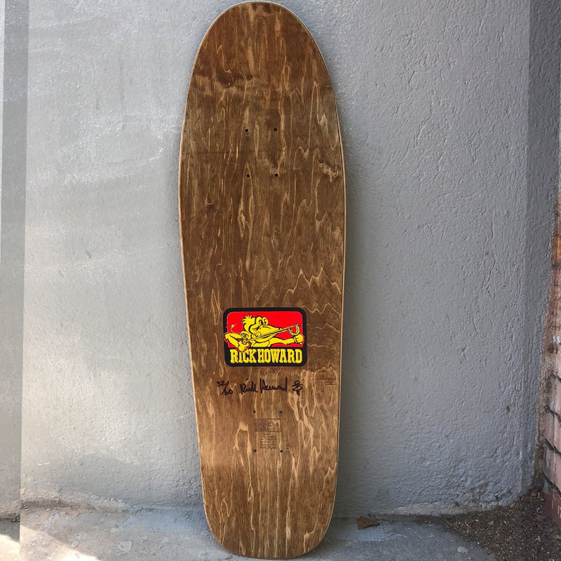 Blockhead Skateboards Rick Howard monkey New Graphics 1991 art, limited edition Skateboard Deck- Tabla Skate - Furtivo! Skateboarding