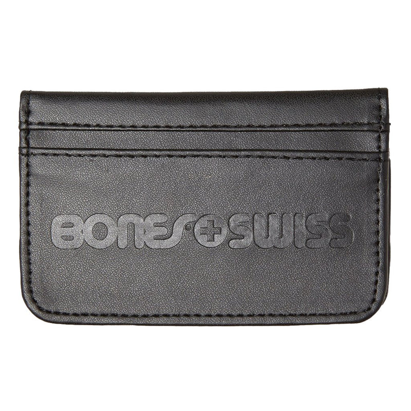 Bones Bearings Swiss Bones black wallet-cartera - Furtivo! Skateboarding